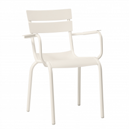 Porto Outdoor Arm Chair colour WHITE available to order now!