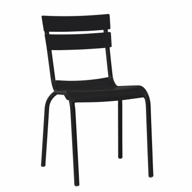 Porto Outdoor Café Chair colour BLACK available to order now!