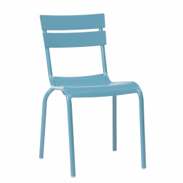 Porto Outdoor Café Chair colour BLUE available to order now!