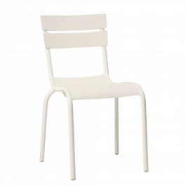 Porto Outdoor Café Chair colour WHITE available to order now!
