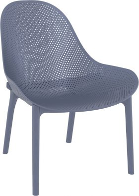 Sky Outdoor Lounge Chair colour ANTHRACITE available to order now!