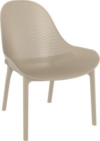 Sky Outdoor Lounge Chair colour TAUPE available to order now!