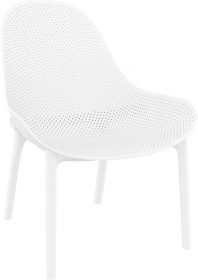 Sky Outdoor Lounge Chair colour WHITE available to order now!