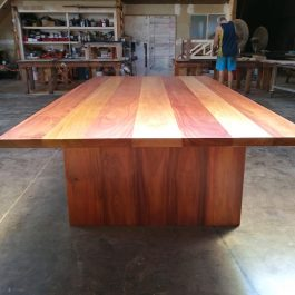 H2O Timber Table in SOUTHERN SPOTTED GUM available to order now!