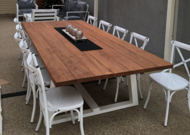 Bay Outdoor Teak Timber Table in TEAK available to order now!