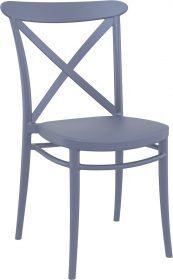 Cross Outdoor Chair colour ANTHRACITE available to order now!