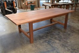 Farmhouse Timber Table GC BLACKBUTT timber available to order now!