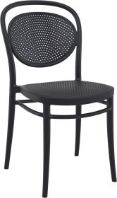 Marcel Outdoor Chair colour BLACK available to order now!