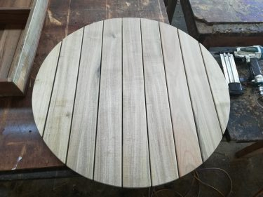 Round 900mm Teak Table Top available to order now!