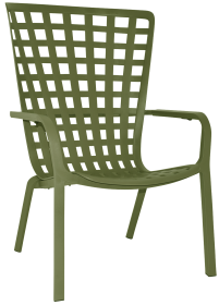 Folio Outdoor Armchair colour agave available to order now!