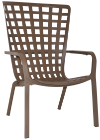 Folio Outdoor Armchair colour taupe available to order now!