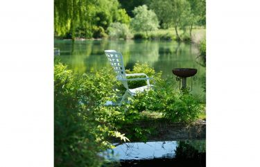 Folio Outdoor Armchair colour white available to order now!