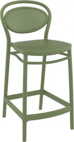Marcel Outdoor Stool 650mm colour GREEN available to order now!