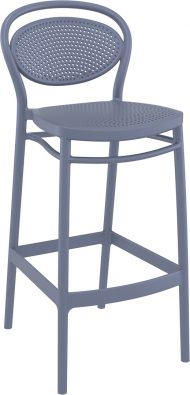 Marcel Outdoor Stool 750mm colour ANTHRACITE available to order now!