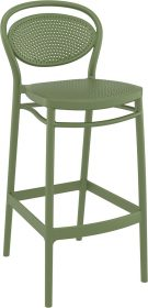 Marcel Outdoor Stool 750mm colour GREEN available to order now!