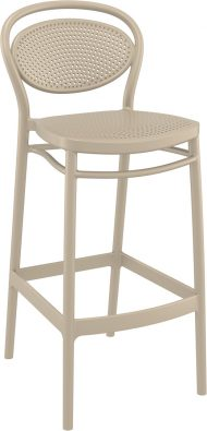 Marcel Outdoor Stool 750mm colour TAUPE available to order now!