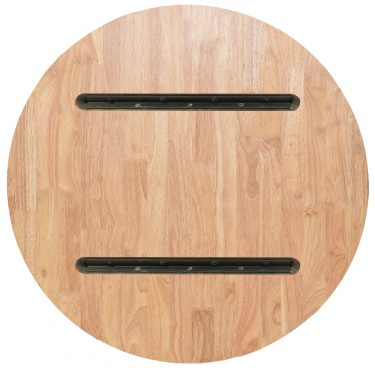 Round 800mm Timber Table Top colour NATURAL available to order now!