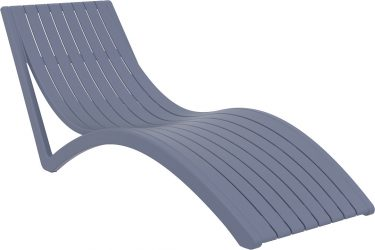 Slim Sun Lounge in colour ANTHRACITE available to order now!
